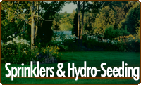 Traverse City, Michigan Sprinklers and Hydro-seeding.