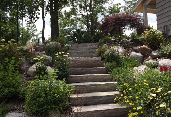 Traverse City, Michigan Landscaping by Huffman